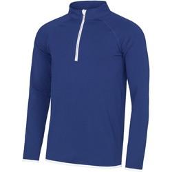 Textiel Heren Sweaters / Sweatshirts Awdis JC031 Koninklijk Blauw/ Arctisch Wit