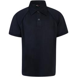Textiel Kinderen Polo's korte mouwen Finden & Hales Performance Marine/Navy