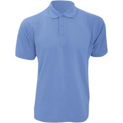 Textiel Heren Polo's korte mouwen Kustom Kit Klassic Lichtblauw
