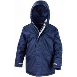 Textiel Kinderen Parka jassen Result Parka Marineblauw