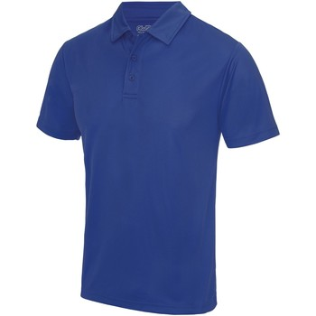 Textiel Heren Polo's korte mouwen Awdis JC040 Koningsblauw