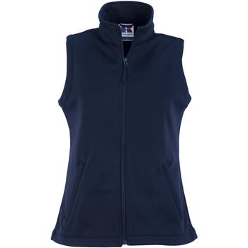 Textiel Dames Vesten / Cardigans Russell Softshell Franse marine