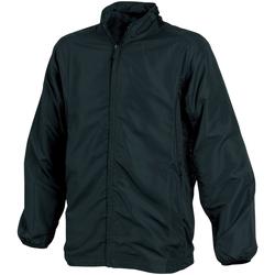 Textiel Heren Windjacken Tombo Teamsport TL046 Zwart/Zwarte/Zwarte