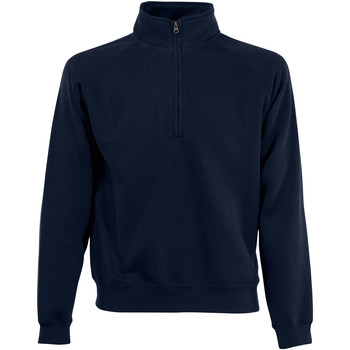 Textiel Heren Sweaters / Sweatshirts Fruit Of The Loom 62114 Donker Marine