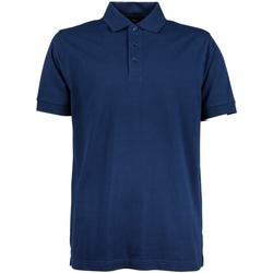 Textiel Heren Polo's korte mouwen Tee Jays Stretch Indigo