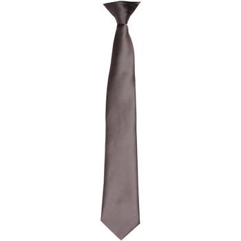 Textiel Heren Krawatte und Accessoires Premier PR755 Donkergrijs