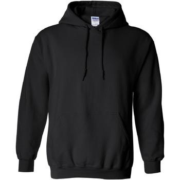 Textiel Sweaters / Sweatshirts Gildan Hooded Zwart
