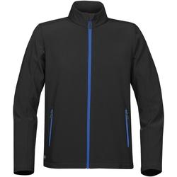 Textiel Heren Wind jackets Stormtech Softshell Zwart/Azuurblauw