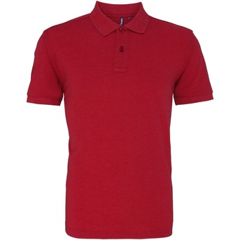 Textiel Heren Polo's korte mouwen Asquith & Fox AQ010 Rode Heide