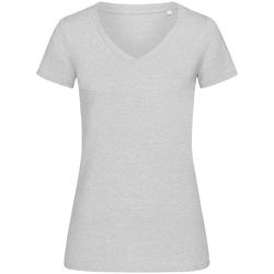 Textiel Dames T-shirts korte mouwen Stedman Stars  Heide Grijs