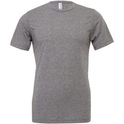 Textiel Heren T-shirts korte mouwen Bella + Canvas Triblend Grijze Triblend