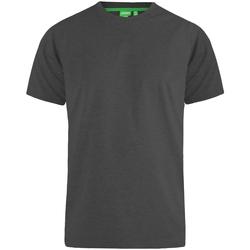 Textiel Heren T-shirts korte mouwen Duke  Houtskoolmelange
