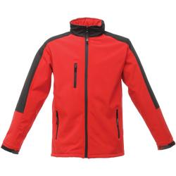 Textiel Heren Windjacken Regatta TRA650 Klassiek rood/zwart