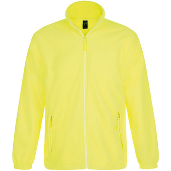 Textiel Heren Fleece Sols North Neon geel