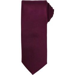 Textiel Heren Krawatte und Accessoires Premier PR780 Aubergine