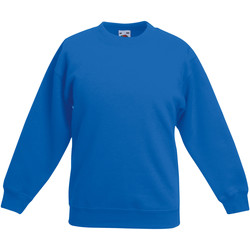 Textiel Kinderen Sweaters / Sweatshirts Fruit Of The Loom 62041 Royaal Blauw