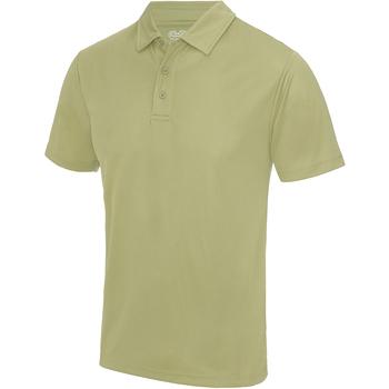 Textiel Heren Polo's korte mouwen Awdis JC040 Woestijnzand