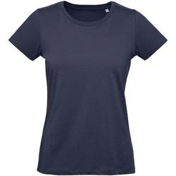 Textiel Dames T-shirts korte mouwen B And C Inspire Stedelijke Marine