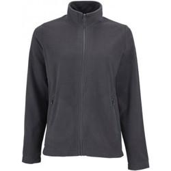 Textiel Dames Fleece Sols Norman Houtskool