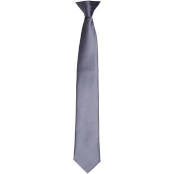 Textiel Heren Krawatte und Accessoires Premier PR755 Staal