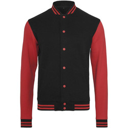 Textiel Heren Wind jackets Build Your Brand College Zwart/Rood