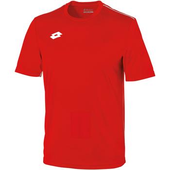 Textiel Kinderen T-shirts korte mouwen Lotto LT26B Vlam/Wit