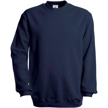 Textiel Heren Sweaters / Sweatshirts B And C Modern Marineblauw