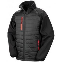 Textiel Heren Dons gevoerde jassen Result Compass Zwart/Rood