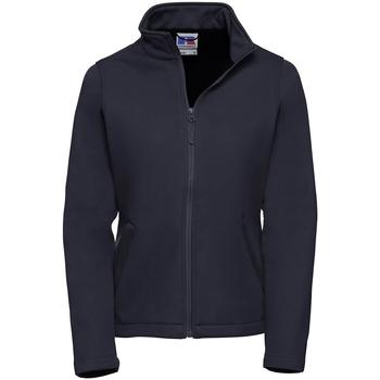 Textiel Dames Fleece Russell Softshell Franse marine