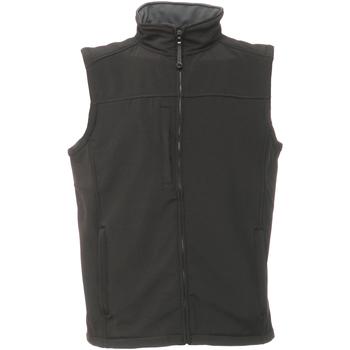 Textiel Heren Vesten / Cardigans Regatta TRA788 Zwart/Seal Grey