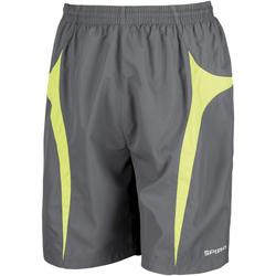 Textiel Heren Korte broeken / Bermuda's Spiro S184X Grijs/Kalk