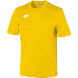 Textiel Kinderen T-shirts korte mouwen Lotto Jersey Geel/Wit
