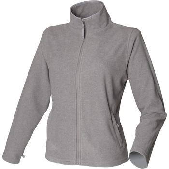 Textiel Dames Fleece Henbury HB851 Heide Grijs