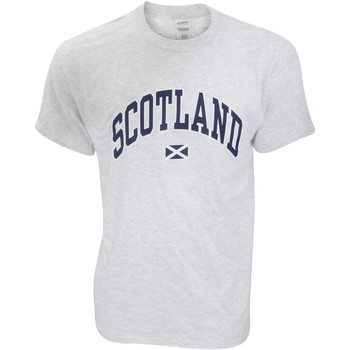 Textiel Heren T-shirts korte mouwen Scotland Casual As