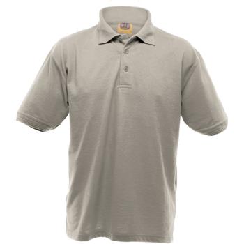 Textiel Heren Polo's korte mouwen Ultimate Clothing Collection UCC004 Heide Grijs