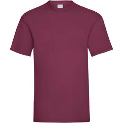 Textiel Heren T-shirts korte mouwen Universal Textiles 61036 Ossenbloed