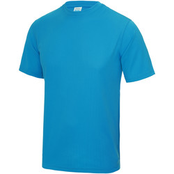 Textiel Heren T-shirts korte mouwen Just Cool Performance Saffierblauw