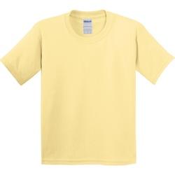 Textiel Kinderen T-shirts korte mouwen Gildan 5000B Gele waas