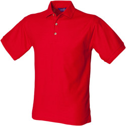 Textiel Heren Polo's korte mouwen Henbury Ultimate Klassiek rood