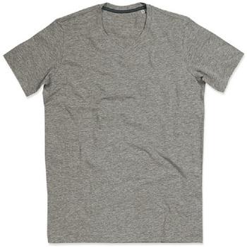 Textiel Dames T-shirts korte mouwen Stedman Stars Claire Heide Grijs