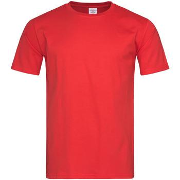 Textiel Heren T-shirts korte mouwen Stedman Classic Rood