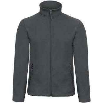 Textiel Heren Fleece B And C ID 501 Donkergrijs