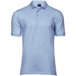 Textiel Heren Polo's korte mouwen Tee Jays Stretch Lichtblauw