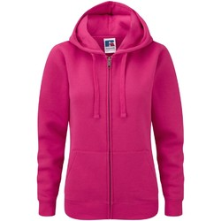 Textiel Dames Sweaters / Sweatshirts Russell Authentic Fuchsia