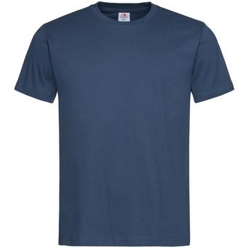 Textiel Heren T-shirts korte mouwen Stedman  Navy