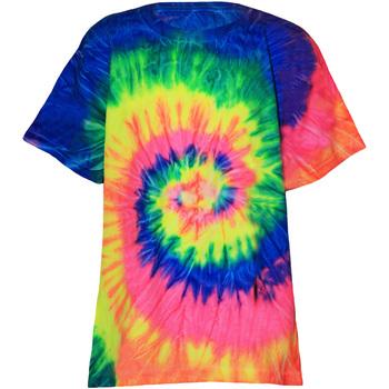 Textiel Kinderen T-shirts korte mouwen Colortone Rainbow Neon Regenboog