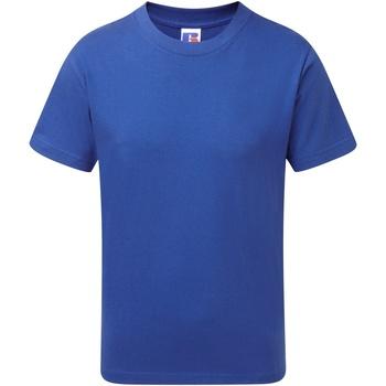 Textiel Jongens T-shirts korte mouwen Jerzees Schoolgear J155B Helder Koninklijk
