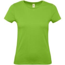 Textiel Dames T-shirts korte mouwen B And C E150 Orchideeëngroen