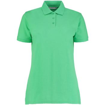 Textiel Dames Polo's korte mouwen Kustom Kit Klassic Appelgroen