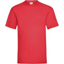 Textiel Heren T-shirts korte mouwen Universal Textiles Casual Helder rood